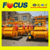 Long Working Life Automatic Js500 Twin Shaft Electric Concrete Mixer