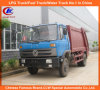 Factory Direct Sell 4*2 Dongfeng Mini Garbage Trucks