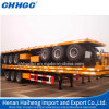 Flat Bed Container and Cargo Transport Semi Trailer