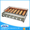 Six Big Burner Stainless Steel Gas BBQ Grill