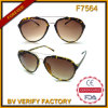 F7564 China Factory Fahion Plastic Sun Glasses