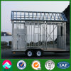 Galvanized Movable Prefab House with Wheels (XGZ-PHW038)