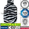 Plush Faux FurHot Water Bottle Cover Leopard Zebra