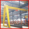 Safe and Reliable Single Girder Gantry Crane with Semi Beam