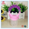 Colorful Baby Food Feeder with Rattle Ring
