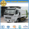 Dongfeng 6 Wheels New Design 125HP 8 Tons Garbage Compress and Transport Truck