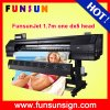 Funsunjet Fs-1700k Outdoor Large Format Vinyl Sticker Printer (1.7m, 1440dpi, DX5 head, economic and good quality)