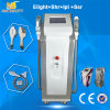 Opt IPL Laser Medical Equipment / Dual Handle E-Light Hair Removal Beauty Machine