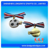 Hard Imitation Enamel Football Lapel Pin Badge (LZY-0001188)