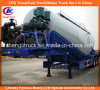 Heavy Duty 55cbm Tri-Axle Bulk Cement Tank Truck Trailer with Air Compressor