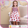 Export High Quality Girl Clothing /off-Shoulder Cotton Children Frocks Designs