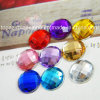 Round Flat Back Resin Rhinestones 30mm Acrylic Crystal (FB-Round 30mm)