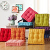 Colorful Cube-Like Cushion with Corduroy Fabric and High Resilience Pearl Cotton Inside