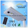 Outdoor IP65 Waterproof 10W Integrated Solar LED Street Light