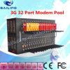 GSM/CDMA/WCDMA/3G Modem Pool SMS TCP/IP Open at Stk (32port modem USB)