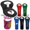 Fashionable Custom Sublimation Printing Neoprene Bottle Holder, Neoprene Double Bottle Holder