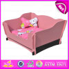 2015 Luxury Dog Bed, Dog Pad, New Fashion Dog Bed Furniture Wholesale Dog Beds for Pets, Top End Wooden Dog Bed W06f004A