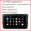 3G WiFi Android 4.0 Car DVD Player for Volkswagen (AD800)