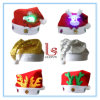 Christmas Decoration LED Flashing Santa Claus Hat for Kids and Adults
