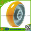 Polyurethane Mold on Cast Iron Wheel Suit for Industrial Casters