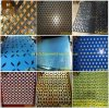 Aluminum Platform Oblong Hole Perforated Metal Sheet