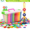 Plastic DIY Snowflake Small Particles Building Blocks Toy