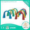 Children Indoor Playground Equipment Plastic Crawl Tunnel