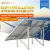 Moregosolar Solar Panel Bracket Mounting System with 2PCS Solar Panels
