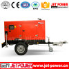 Electric Generator 40kw Soundproof Diesel Generator with Trailer Two Wheels