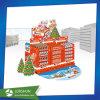 Kinder Chocolate Cardboard Display for Christmas Day