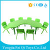 Preschool Indoor Kids Educational Equipment Plastic Chairs and Desks