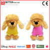 En71 Cuddle Soft Toy Plush Poodle Stuffed Animal Dog for Children/Kids