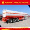 3 Axle 4000-5000L Oil Fuel Tank Semi Trailer