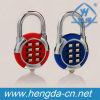 Yh9991 Zinc Keyless Digital Gate Padlock Round Combination Password Padlock