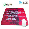 Computer Products Custom Logo Printing Rubber Mouse Mat