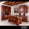 2016 Welbom Cream Color L Shape Oak Kitchen Cabinet