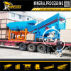 Large Capacity Vibrating Screen Equipment Sand Gravel Washing Separator