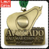 Customized Half Marathon 5k Sport Medal with Ribbon
