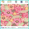 Multi-Color Polyester Textile Flower and Leaft Design Printing Fabric