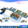 Jumping Trampoline with Safety System, High Quality Trampoline Park with Playground Equipment