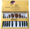 Kylie Multipurpose Toothbrush Style Cosmetic Brush 10 PCS/Set Makeup Brush Set
