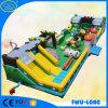 OEM 0.55 mm Pcv Tarpaulin Amusement Park Inflatable Castle