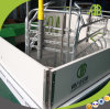 Galvanized Swine Farrowing Crates for Farm Equipment `Pig Breeding