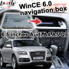 GPS Navigation Box Video Interface for Audi A4 A5 Q5 09-16 Model 6.5 Inch Win Ce 6.0