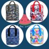 Thermal Dye Sublimation Camouflage Printing School Bag Backpack