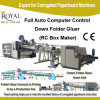 Full Automatic Computer Control Down Folder Glue Machine (RC Box Maker)