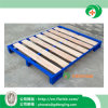 The Stackable Steel-Wood Pallet for Warehouse by Forkfit with Ce
