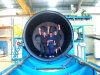 Large Diameter HDPE Winding Pipe Line