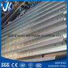 New Product Hot Dipped Galvanized Steel H Beam with Slots for Building