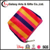 Women′s Mini 450d Polyester Small Striped Clutch Coin Purse Bag with Zipper